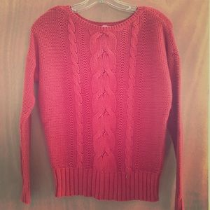 St. John's Bay Cable Knit Pullover Sweater
